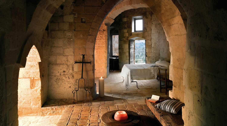 Le Grotte Della Civita, Matera, Italien