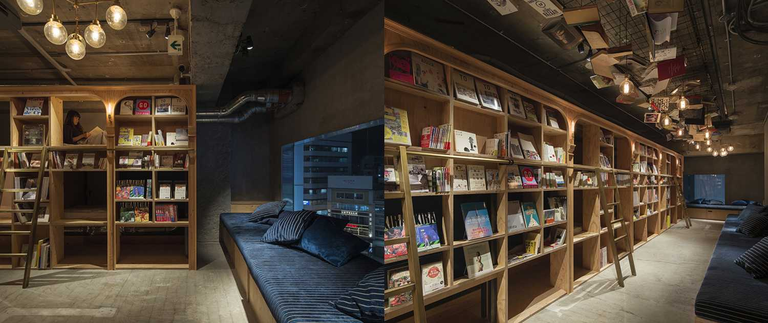 Book and Bed, Tokyo, Japan