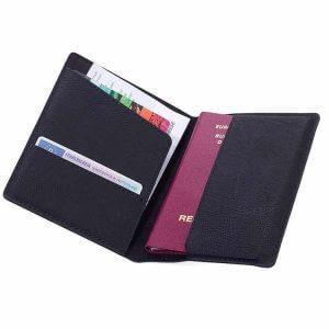 Pass och kortfodral med RFID-skydd
