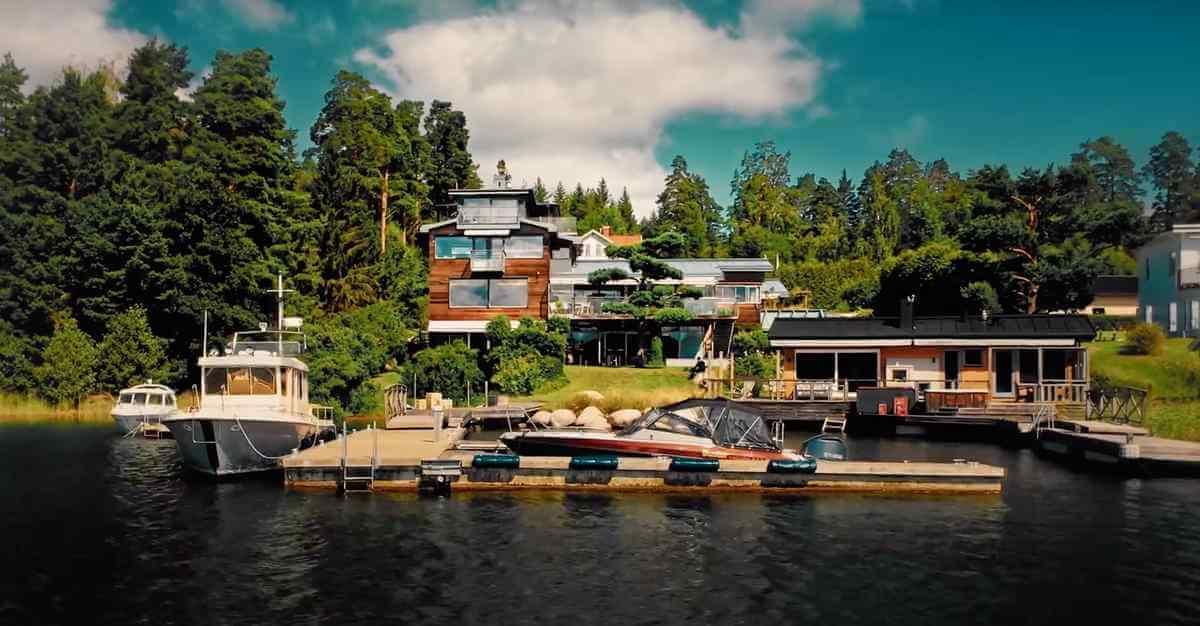 Hotel California - lyxhus med swimmingpool i Stockholms skärgård
