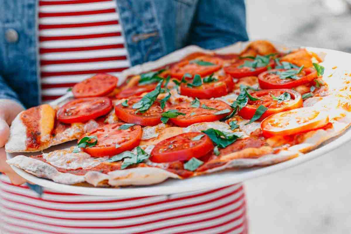 Äkta italiensk pizza